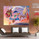 Wile Coyote The Road Runner ACME Rocket Looney Tunes GIANT Huge Print Poster