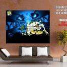 Ben 10 Ripjaws Alien Cartoon TV Series Art GIANT Huge Print Poster
