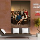 Dallas Characters Cast Awesome TV Series GIANT Huge Print Poster