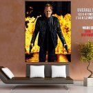 24 Live Another Day Jack Bauer Amazing Fire Tv Series GIANT Huge Print Poster