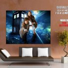 Doctor Who Matt Smith Amy Pond Karen Gillan TV Series GIANT Huge Print Poster