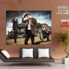 Doctor Who Amy Pond Arthur Darvill Rory Williams GIANT Huge Print Poster