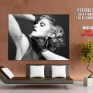 Madonna Louise Ciccone BW Portrait Actress Singer GIANT Huge Print Poster