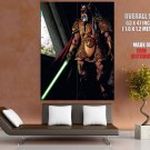 Kai Hudorra Bothan Jedi Master Star Wars Lightsaber GIANT Huge Print Poster