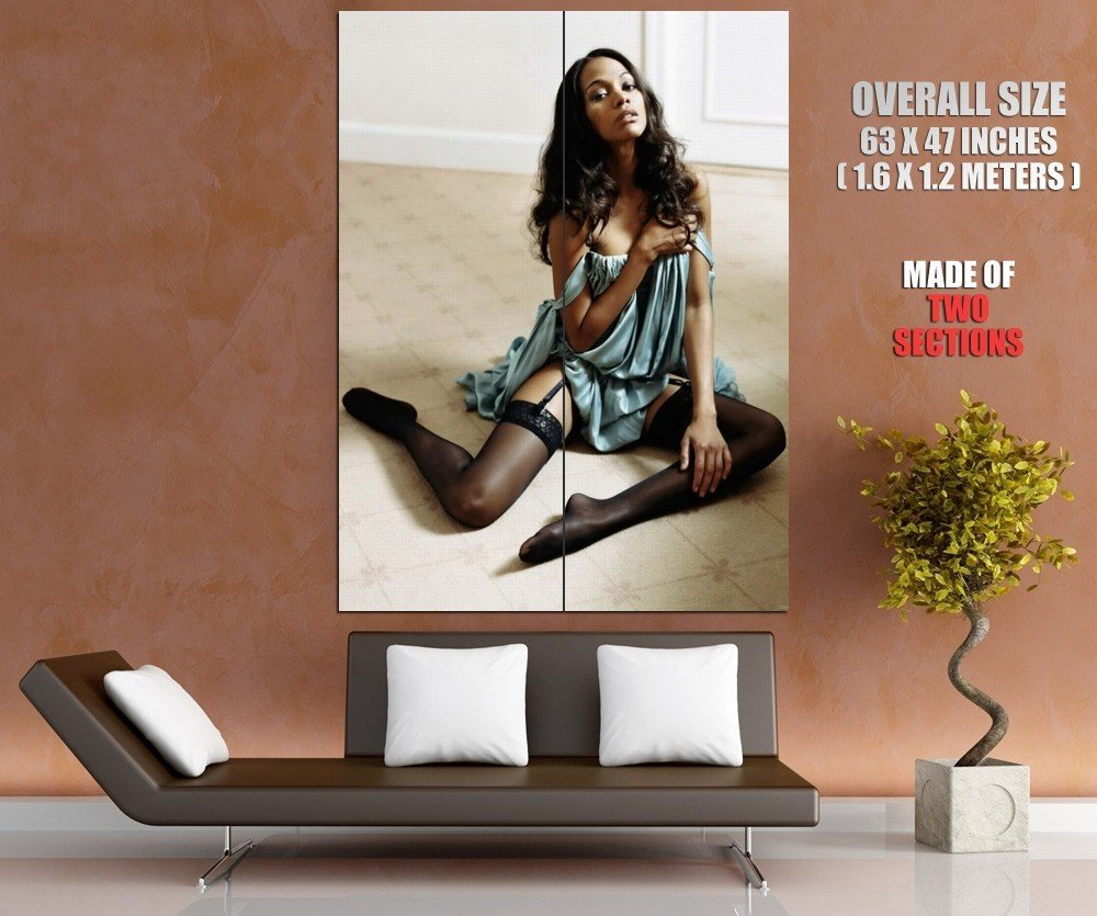 Zoe Saldana Hot Actress Giant Huge Wall Print Poster