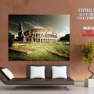 Italy Rome Colosseum Giant Huge Wall Print Poster
