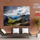 Swiss Alps Landscape Giant Huge Wall Print Poster