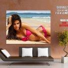 Sara Sampaio Model Sexy Bikini Beach Giant Huge Wall Print Poster