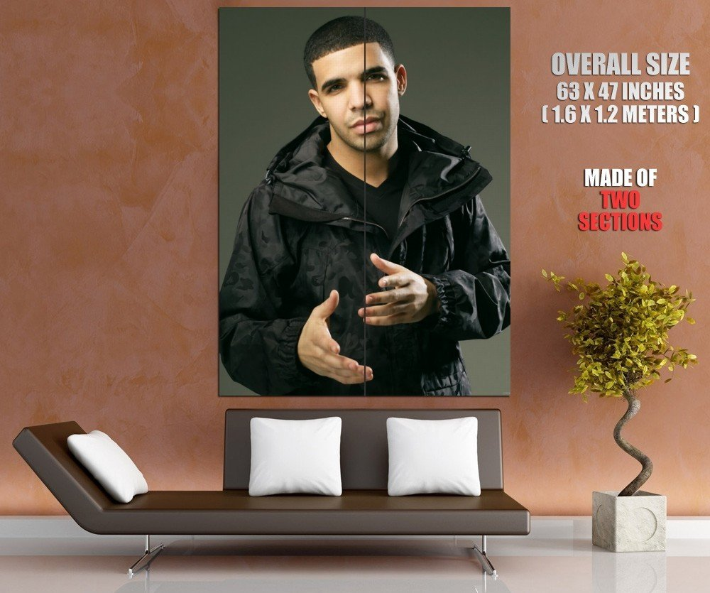 Drake Rapper Music Giant Huge Wall Print Poster