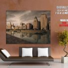 China Old Shanghai Bund Colonial Buildings Giant Huge Wall Print Poster