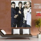 Coldplay British Rock Band Music Giant Huge Wall Print Poster
