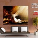 Amazing Angel Wings Light Giant Huge Wall Print Poster
