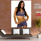 AJ Lee Professional Wrestler Divas Championship Giant Huge Wall Print Poster