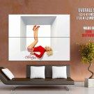 Christina Aguilera Hot Singer R B Pop Music Giant Huge Wall Print Poster