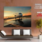 Aviation Airplane Jet Take Off Strip Giant Huge Print Poster