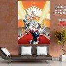 Bugs Bunny Oscar Academy Awards Funny Rabbit Cartoon Giant Huge Print Poster