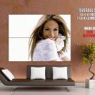 Jennifer Lopez Singer Hip Hop Beauty Smile Giant Huge Print Poster