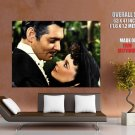 Gone With The Wind Clark Gable Vivien Leigh Movie Giant Huge Print Poster