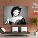 Elizabeth Taylor Actress Beautiful Woman Giant Huge Print Poster