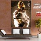 Machete Kills Lady GAGA Wolf Skin Gun Movie Giant Huge Print Poster