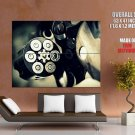 Weapon Revolver Bullet Giant Huge Print Poster