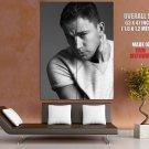 Channing Tatum Portrait Actor BW Giant Huge Print Poster