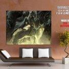 The Legend Of Zelda Characters Wolf Art Giant Huge Print Poster