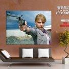 Chloe Grace Moretz Gun Pistol Hot Actress Giant Huge Print Poster