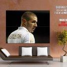 Karim Benzema Real Madrid France Football Sport Giant Huge Print Poster