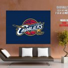 Cleveland Cavaliers Logo Basketball Sport Art Giant Huge Print Poster