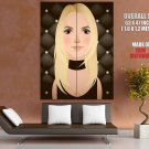 Britney Spears Music Singer Portrait Cool Art Giant Huge Print Poster