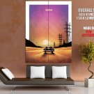 Drive Movie 2011 Sunset Car Road Cool Art Giant Huge Print Poster
