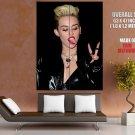 Miley Cyrus Hot Tongue Pop Singer Music Rare Giant Huge Print Poster