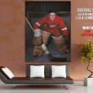 Terry Sawchuk Detroit Red Wings Goaltender Hockey Giant Huge Print Poster