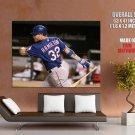 Josh Hamilton Texas Rangers Baseball Sport Giant Huge Print Poster