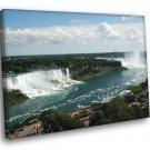 Niagara Falls Nature 50x40 Framed Canvas Print