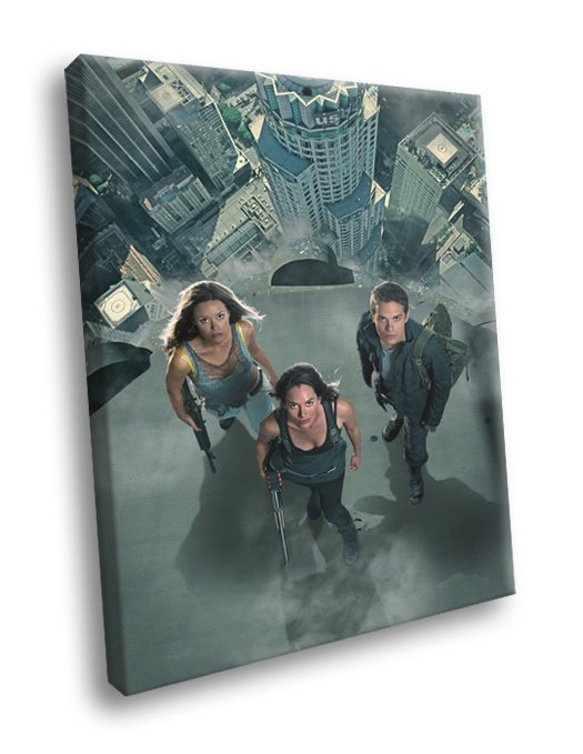 Terminator The Sarah Connor Chronicles TV Series 50x40 Framed Canvas Print