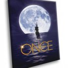 Once Upon A Time Jolly Roger TV Series 50x40 Framed Canvas Print