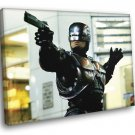 Robocop Painting Art Movie 1987 Best Awesome 50x40 Framed Canvas Print