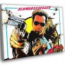 The Last Stand Movie Art Arnold Schwarzenegger 50x40 Framed Canvas Print