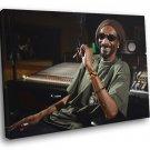Snoop Doggy Dogg Smoking Gangsta Rap Music 50x40 Framed Canvas Print