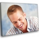 Paul Walker Smile Portrait Actor 50x40 Framed Canvas Print