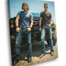 Florida Georgia Line Country Pop Duo Music Rare 50x40 Framed Canvas Print