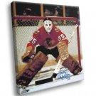 Tony Esposito Chicago Blackhawks Signature Hockey 50x40 Framed Canvas Print
