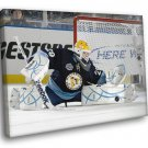 Marc Andre Pittsburgh Penguins Goaltender Hockey 50x40 Framed Canvas Print