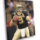 Drew Brees New Orleans Saints Football Sport 50x40 Framed Canvas Print