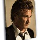 Sean Penn Awesome Portrait Suit Handsome Rare 50x40 Framed Canvas Print