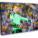Manuel Neuer Goalkeeper Germany Football 50x40 Framed Canvas Print