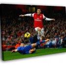 Mesut Ozil Frank Lampard FC Arsenal Chelsea 50x40 Framed Canvas Print