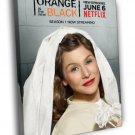 Lorna Morello Orange Is The New Black Series 50x40 Framed Canvas Print